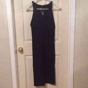Zara navy knit dress